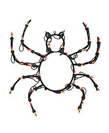 Northlight Lighted Spider Halloween Window Silhouette Decoration