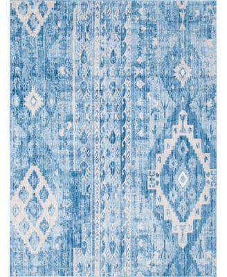 Nira Nir2 Blue 8' x 10' Area Rug