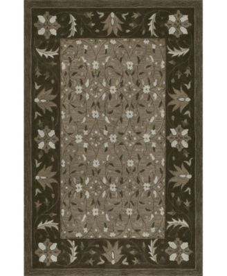 CLOSEOUT! Torrey Tor1 Chocolate 5' X 7'6 Area Rugs