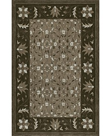 Torrey Tor1 Chocolate Area Rugs Collection