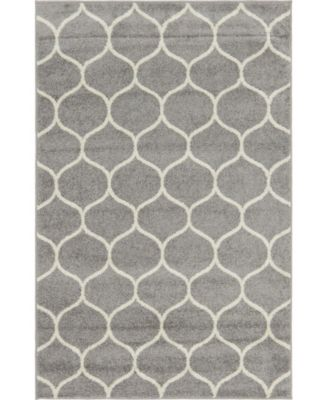 Plexity Plx2 Light Gray 5' x 8' Area Rug