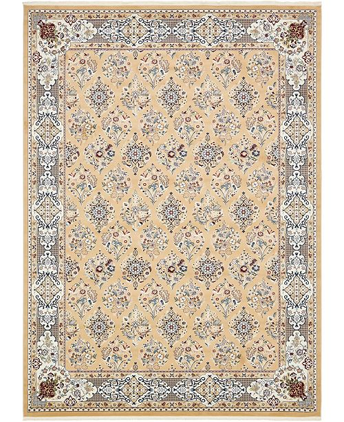 Bridgeport Home Zara Zar6 Tan Area Rug Collection