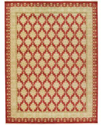 Orwyn Orw5 Red 5' x 8' Area Rug