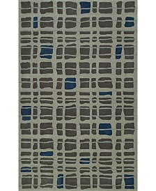 D Style Luka Luk40 Steel Area Rugs Collection