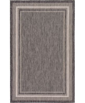 Pashio Pas5 Black 9' x 12' Area Rug