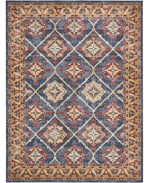 Bridgeport Home Shangri Shg1 Light Blue Area Rug Collection