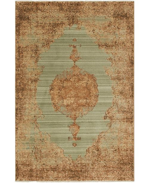 Bridgeport Home Thule Thu2 Light Green Area Rug Collection