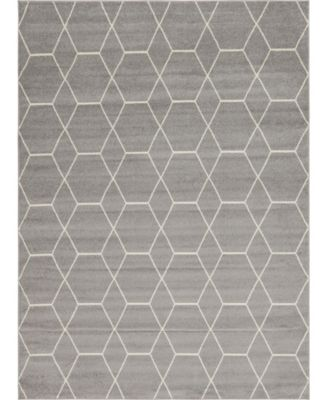 Plexity Plx1 Light Gray 8' x 10' Area Rug