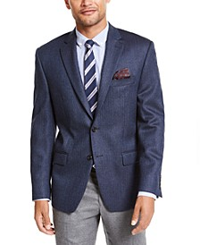 Men's Classic-Fit Herringbone Sport Coat