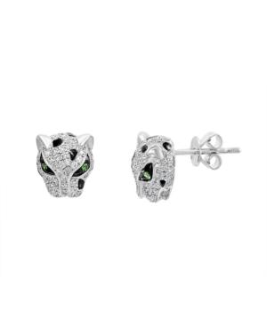 Effy Diamond (3/8 ct. t.w.) Earrings in Sterling Silver