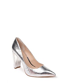 Jewel Badgley Mischka Rumor II Block Heel Pumps