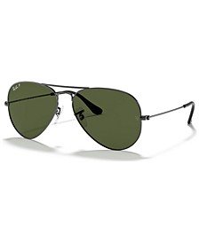 ORIGINAL AVIATOR Polarized Sunglasses, RB3025 58