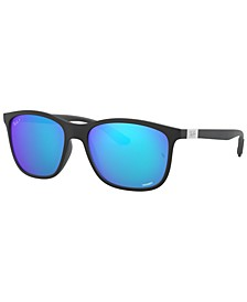 CHROMANCE Polarized Sunglasses, RB4330CH 56