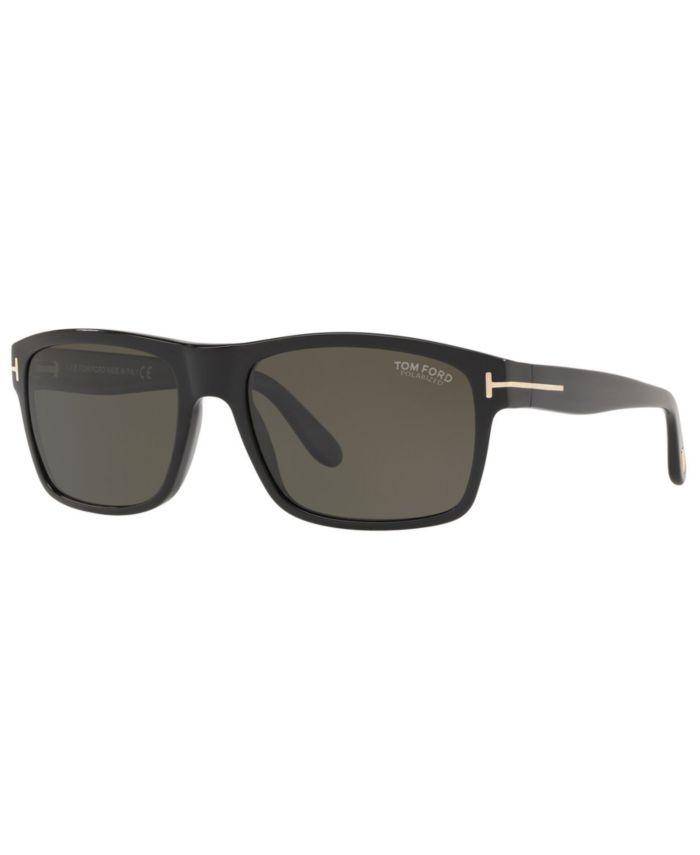 Tom Ford Men's Polarized Sunglasses, TR001026 & Reviews - Sunglasses by Sunglass Hut - Men - Macy's