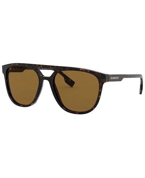 Burberry Men's Polarized Sunglasses