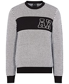 Men's Tiled Logo Sweater