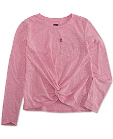 Levi's® Little Girls Twisted Top