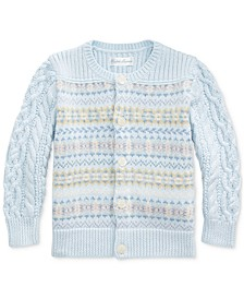 Baby Boys Cotton Cable Sweater