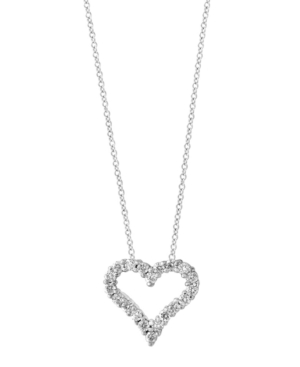 Pave Classica By Effy Diamond (1/2 ct. t.w.) Pendant in 14k White Gold