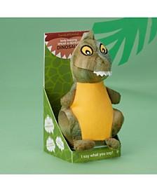 Two's Company Speak-Repeat Plush Dinosaur in Gift Box