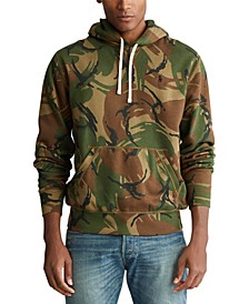Men's Big & Tall Camo Fleece Hoodie