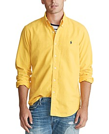 Men's Classic Fit Garment Dyed Oxford Shirt