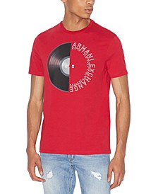 Men's Half Record Graphic T-Shirt