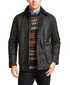 Men's Naburn Blackwatch Tartan Wax Jacket