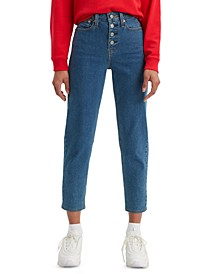 Women's Button-Fly High-Rise Jeans