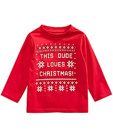 Baby Boys Cotton Holiday T-Shirt, Created For Macy's