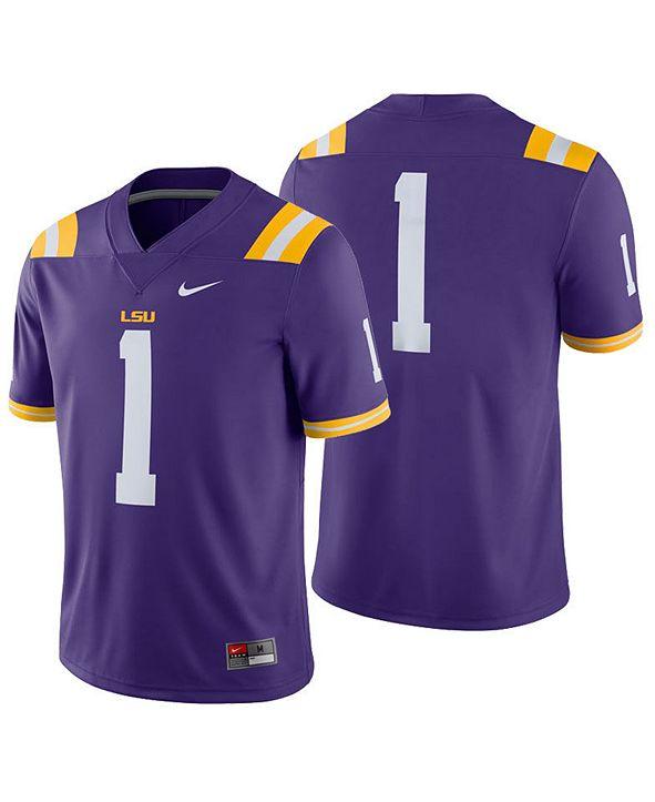 Nike Men's LSU Tigers Football Replica Game Jersey