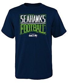 Outerstuff Big Boys Seattle Seahawks Energy T-Shirt