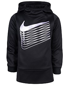 Nike Toddler Girls Metallic Logo Therma Fleece Hoodie