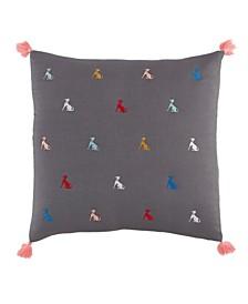 Novogratz Maisie Quilted Throw Pillow