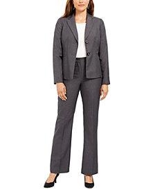 Le Suit Petite Blazer & Pants Suit
