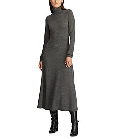 Wool Turtleneck Dress