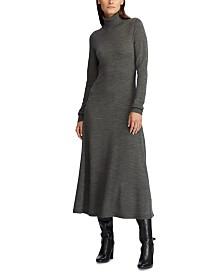 Lauren Ralph Lauren Wool Turtleneck Dress