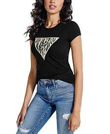 GUESS Logo-Print T-Shirt