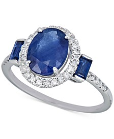 Certified Ruby (2-1/5 ct. t.w.) & Diamond (1/5 ct. t.w.) Ring in 14k Rose Gold (Also in Sapphire & Emerald)