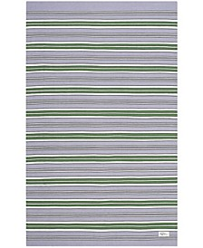 Leopold Stripe LRL2462G Lilac Area Rug Collection