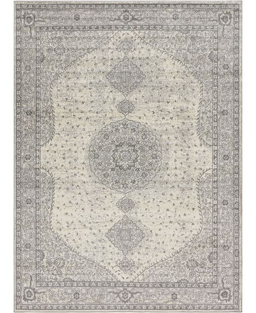Bridgeport Home Mobley Mob1 Light Gray Area Rug Collection