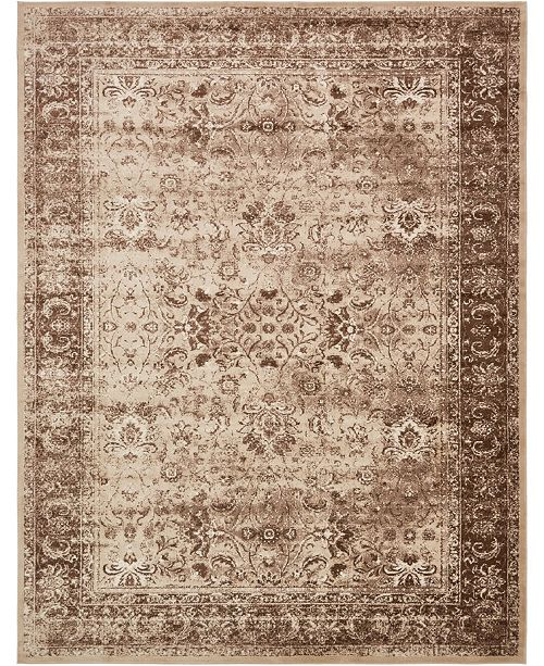 Bridgeport Home Linport Lin1 Ivory Area Rug Collection