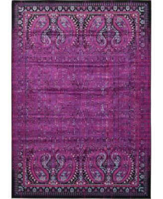 Linport Lin6 Lilac 10' x 13' Area Rug