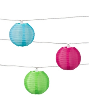 Allsop Home & Garden Soji Solar String Lights - Tropical Fruit Solar Lantern