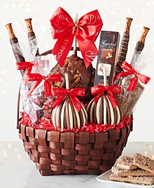 11-Pc. Grand Holiday Caramel Apple Gift Basket