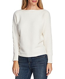 Basket-Stitch Sweater