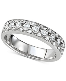 Diamond Openwork Band (1/2 ct. t.w.) in 14k White Gold