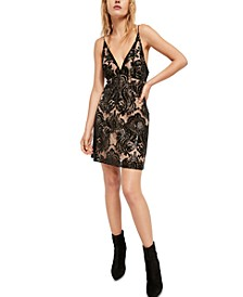 Night Shimmers Mini Dress