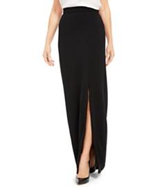 Adrianna Papell Column Skirt