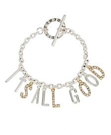 BCBGeneration IT'S ALL GOOD Affirmation Charm Bracelet